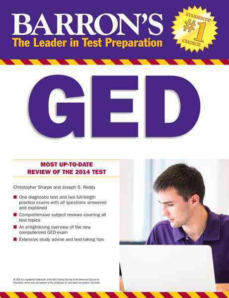 Barron's Ged By Sharpe, Christopher/ Reddy, Joseph